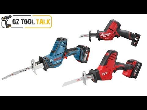 Hackzall Comparison: Milwaukee Vs Bosch - Reciprocating / Sabre Saw