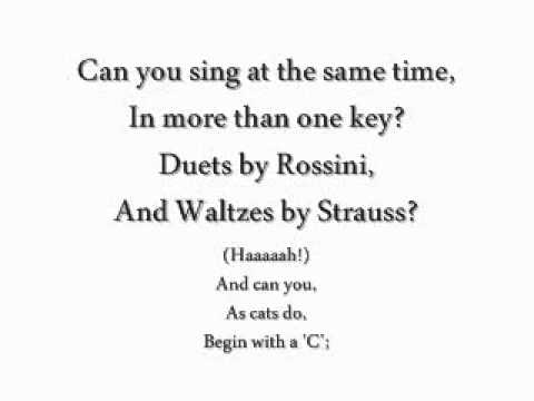 CATS [Original London Cast Recording]; Jellicle Songs For Jellicle Cats Lyrics
