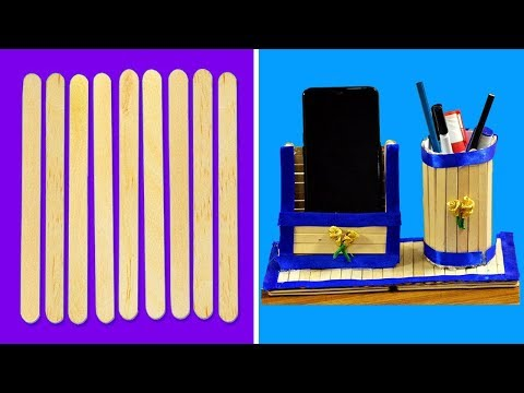 popsicle-stick-crafts-for-adults-|-ice-cream-stick-craft-|-arts-and-crafts-|-diy-|-#187