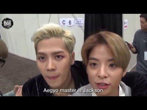 MAMA 2015: Amber & Jackson