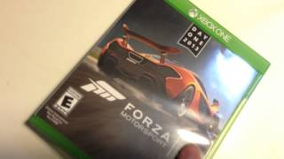 Распечатка ( Unboxing ) Forza 5 Day One Edition