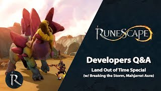 RuneScape Dev Q&A (June 2019) - Land Out of Time Special