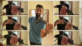 Ennavalae | Kadhalan's Love Theme | Kadhalan | A R Rahman | Violin Cover | Manoj Kumar - Violinist