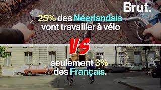 Video Pourquoi les Néerlandais font plus de vélo que les Français download MP3, 3GP, MP4, WEBM, AVI, FLV Oktober 2018