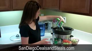 Black Bean Soup Crock Pot