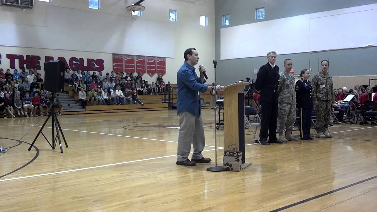 Veterans Day Assembly @ Independence Middle School - YouTube
