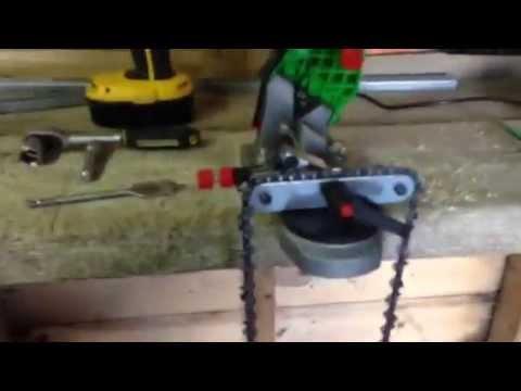 chainsaw sharpener einhell bg cs85e 85w doovi. Black Bedroom Furniture Sets. Home Design Ideas