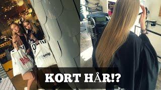 Kort hår?! | VLOG