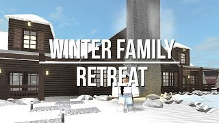 ROBLOX - France Bienvenue à Bloxburg: Winter Family Retreat 118k