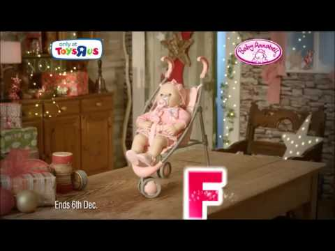 Baby Annabell At Toys R Us Christmas 2015