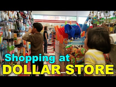 Shopping At The Great Canadian Dollar Store, Moncton, New Brunswick