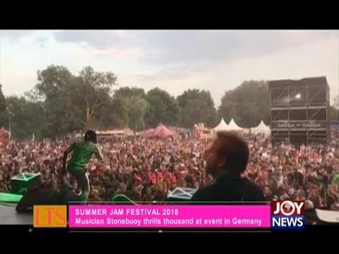 Summer Jam Festival 2018 - Let's Talk Entertainment on JoyNews (9-7-18)