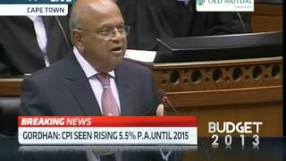 SA Budget Speech: South Africa