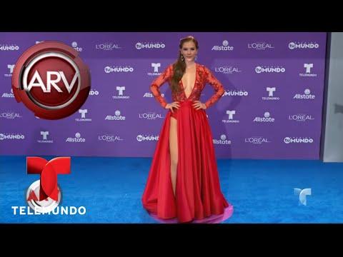Aracely Arámbula se lució con su vestido en Premios Tu Mundo   Al Rojo Vivo   Telemundo