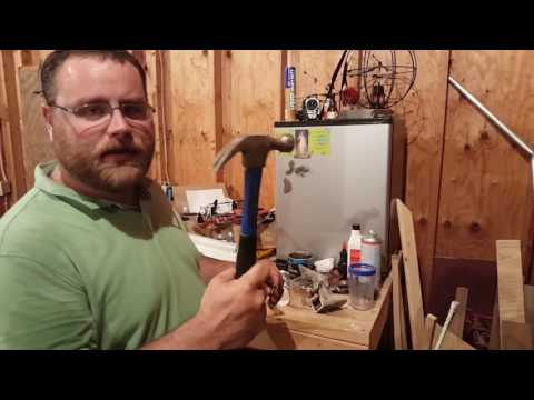 Hacksaw's Garage Ep1: Sagging hinge repair on Lincoln Town Car.