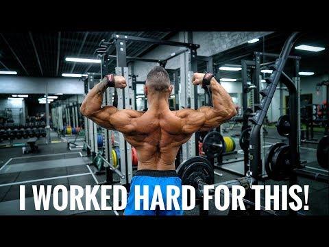 WORKING HARD FOR WHAT YOU WANT | MY STAPLE BACK ROUTINE!