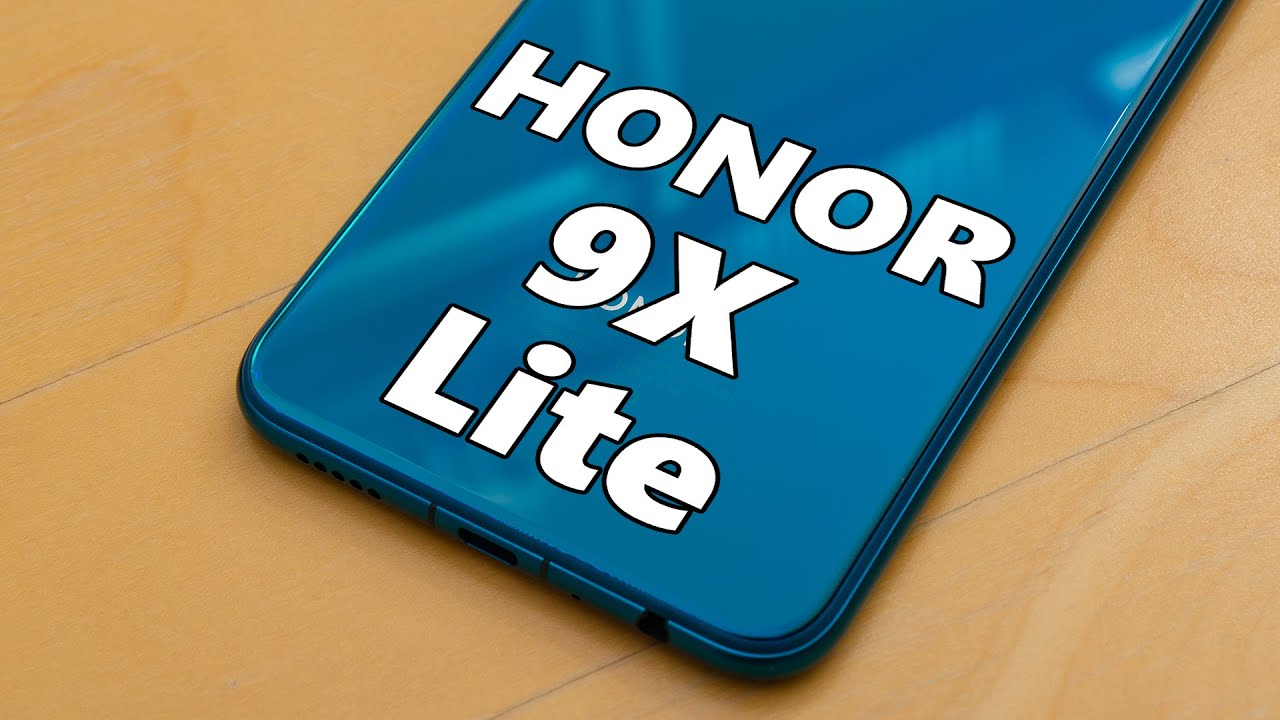 Great entry-level smartphone!! HONOR 9X Lite review!