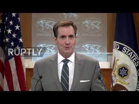 USA: State Dept. spokesperson discusses Russian media and 'Anti-EU propaganda' resolution