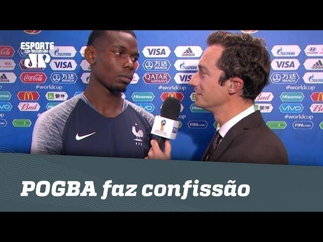SINCERO! POGBA faz confissão sobre FINAL da EURO 2016!