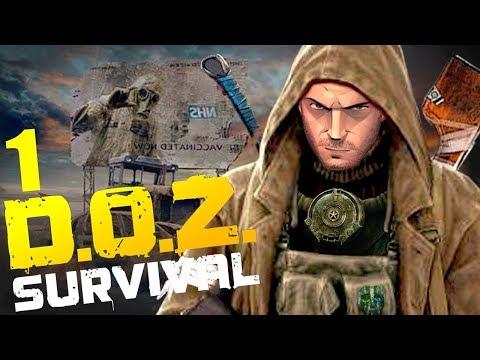 НАШИ ЗНАЮТ КАК ВЫЖИВАТЬ! | Dawn Of Zombies: Survival (DOZ Survival) #1