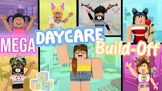 MEGA Daycare Build-Off! Panda V.s. 6 FANS!