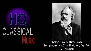 BRAHMS - Symphony No.3 in F Major, Op.90 - IV. Allegro - HQ Classical Music