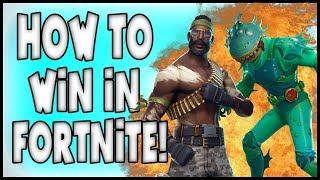 HOW TO WIN LIKE NINJA IN FORTNITE! = (Fortnite Funny Moments)