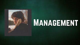 Clairo - Management (Lyrics)