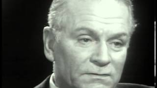 Sir Laurence Olivier : Great Acting 1966 Interview with Kenneth Tynan (3/5)