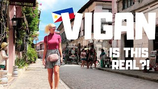 AMAZED at VIGAN!! British Couple's First Thoughts on Philippine's UNBELIEVABLE City!?!
