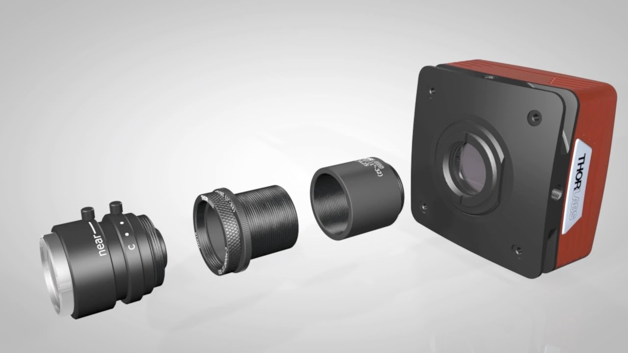 C mount C-Mount Aluminium Extension Spacer Kit Adapter 1mm,2,5mm,10,20,35,50mm