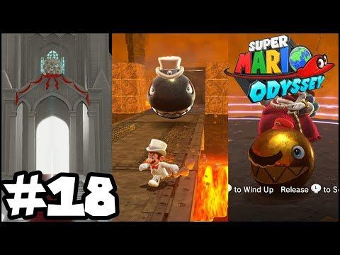 Super Mario Odyssey - Episode 18 -  THE MOON KINGDOM! BANZAI BILL! CHOMPIKINS IS BACK!