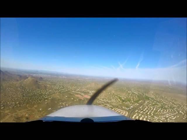 Morning Flight at Scottsdale, AZ