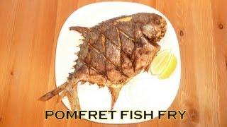 Spicy Pomfret / Pompano Fish Fry