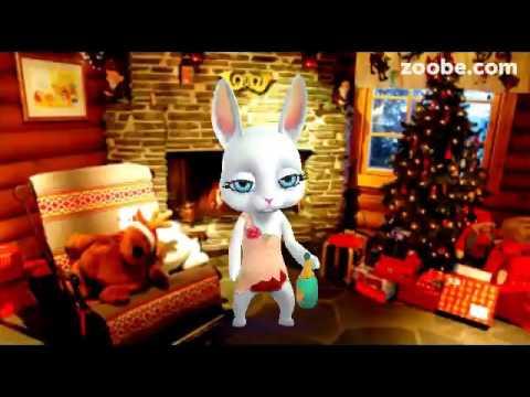 ZOOBE зайка Поздравление С Новым Годом ! - Видео приколы ржачные до слез