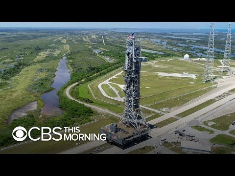 Retracing the steps of the Apollo 11 crew the morning they made history