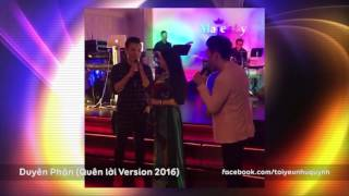 Duyên Phận - Như Quỳnh Live (2016) Quên Lời Version