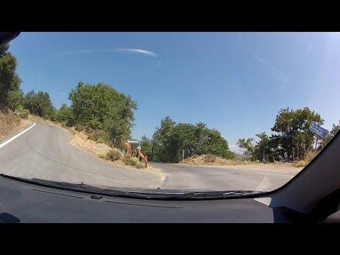 Driving through Vourvoura