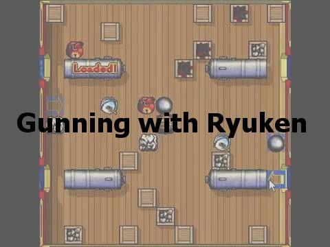Puzzle Pirates Ultimate Gunning With Ryuken (Half-Loop)