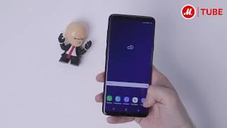 Распаковка смартфона Samsung Galaxy S9+ «Чёрный бриллиант»