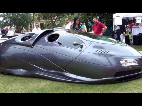 'Extra Terrestrial Vehicle' ETV Concept.  A custom made, futuristic car built in Florida