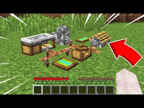 ถ้าบล็อคหมู่บ้าน!..มีขนาดเล็กลง -0.0000000001 เท่า โคตรเจ๋ง 🔥 [Minecraft เกรียน]