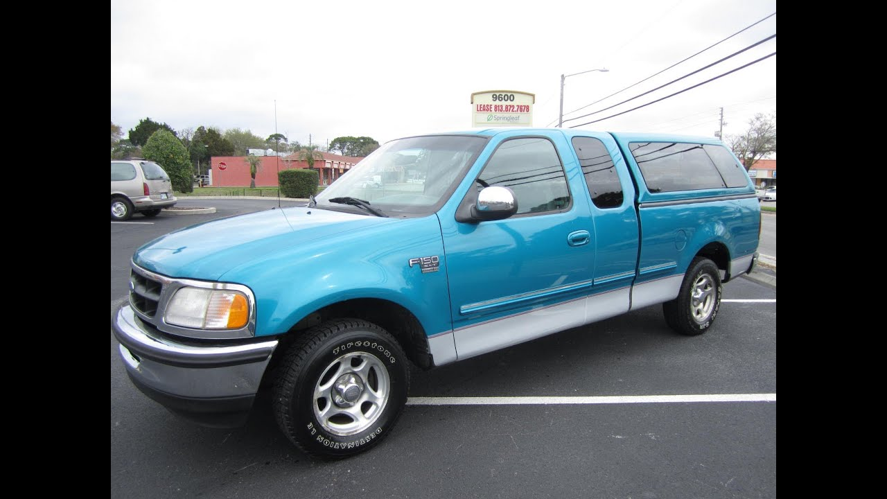 Sold 1998 ford f 150 xlt supercab 2wd meticulous motors for 1998 ford f150 motor for sale