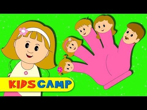 Finger Family Song | Finger Family Songs Collection | Many More Nursery Rhymes by KidsCamp