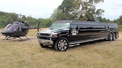Indian Bday Bash With Triple Axle Hummer Limousine 2016 !! (Australia's Biggest Hummer ! )