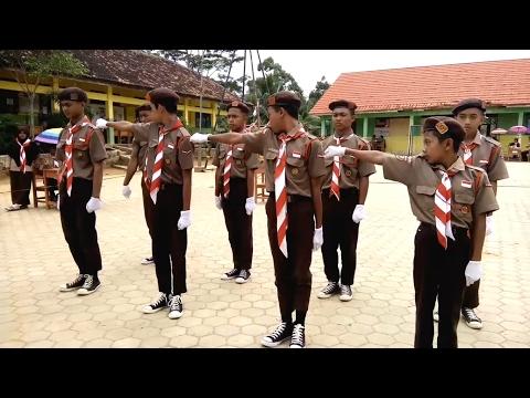 Juara 1 Lomba PBB Putra - PBB Terbaik Temu Galang Ke 1 Gudep SMP N 1 Kelumbayan Barat 2017