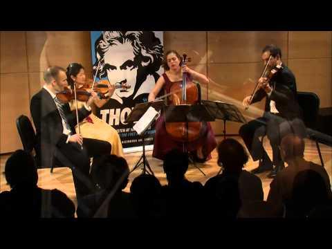 Beethoven String Quartet No. 9 in C major,  Op. 59, No. 3 - Jasper String Quartet (Live)