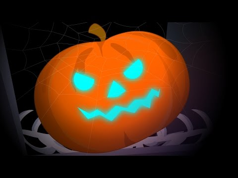Scary Pumpkin | Happy halloween | kids nursery rhyme | baby song | video for preschoolers