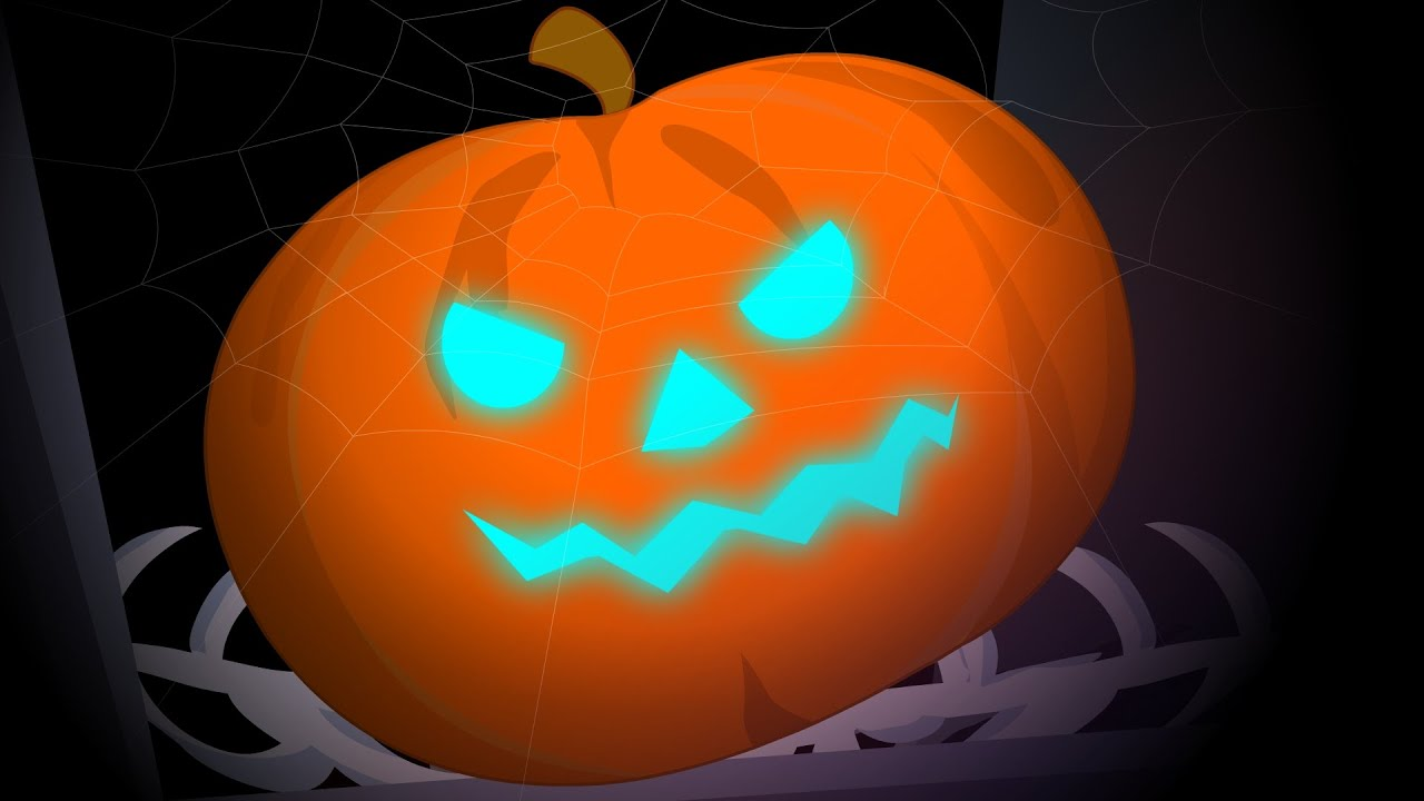 Scary Pumpkin | Happy halloween | kids nursery rhyme | baby song ...