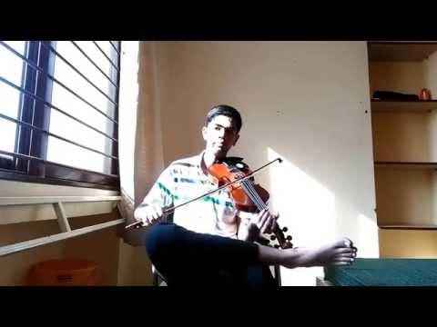 Ennodu Nee Irundhaal Violin Cover - I movie song